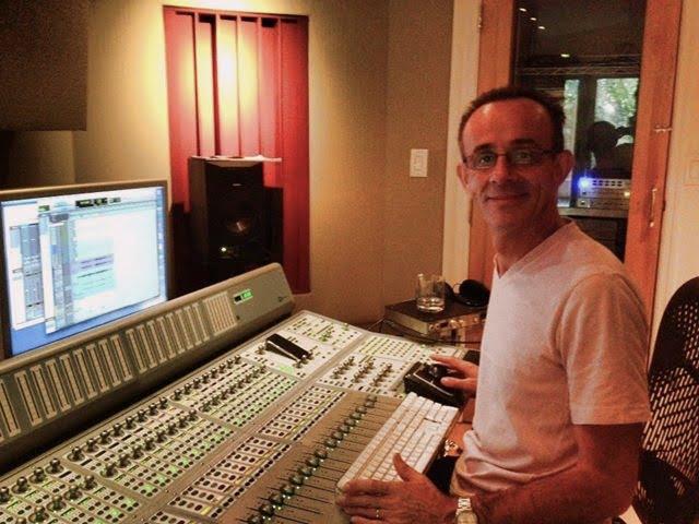 kevin killen in the studio